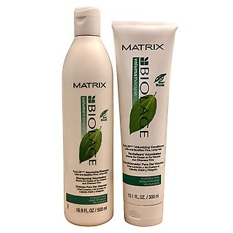 Matrix Volumatherapie Full Lift Volumizing Shampooing 16,9 OZ & Conditioner 10.1 OZ Ensemble