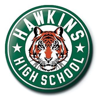 Stranger Things Hawkins High School 25mm Pin Button Badge