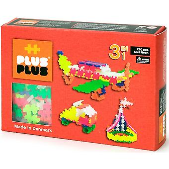 Mini Neon Plus-Plus 3 in 1: 220 stuks (3711)