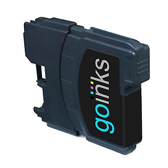 1 Black Ink Cartridge to replace Brother LC980Bk & LC1100Bk Compatible/non-OEM by Go Inks