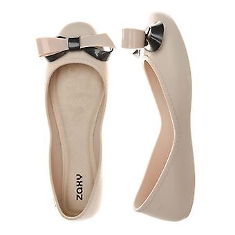 Women's Zaxy Start Ribbon Bow Shoes in Cream