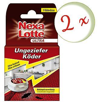 Sparset: 2 x NEXA LOTTE® Ultra vermin bait, 1 piece