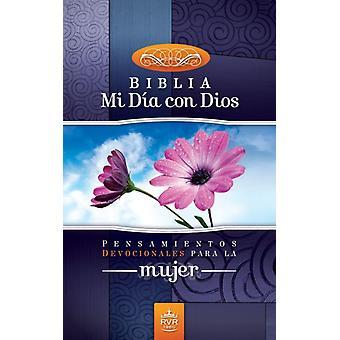 Santa BibliaRVR 1960 Mi Dia Con Dios  Pensamientos Devocionales Para la Mujer by Zondervan