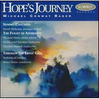 M.C. Baker - Hopes rejse: The musik af Michael Conway Baker [CD] USA import
