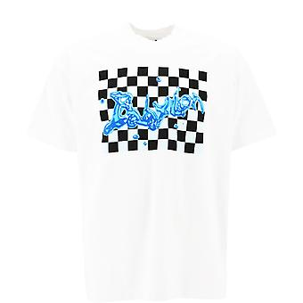 Babylon La F101054wht Men's White Cotton T-shirt