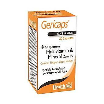 Gericaps Multinutrient 30 capsules