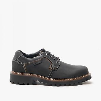 Josef Seibel Chance 08 Mens Leather Waterproof Shoes Black