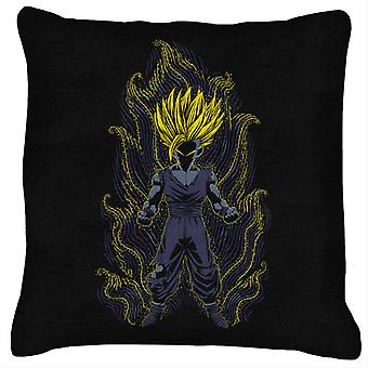 Post Impressionist Young Trunks Dragon Ball Super Cushion