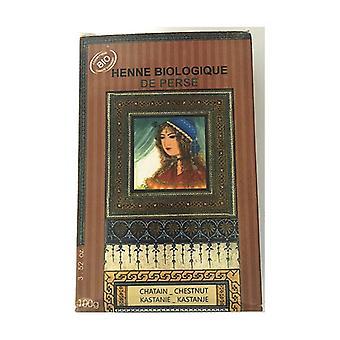 Henna chestnut Bio 100 g of powder (Brown)