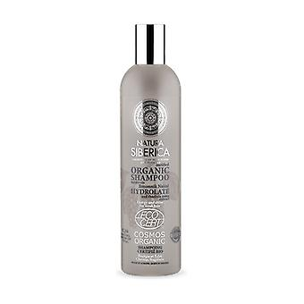 Biologische shampoo energie en glans voor zwak haar 400 ml