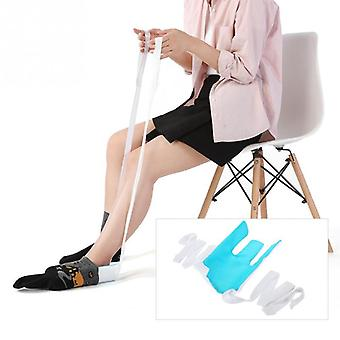 Foot Brace Support Sock Aid Kit - Stocking Helper Tool Sock Aid Brace For Pregnancy Or Injuries