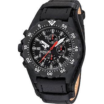 KHS - Men's Watch - Shooter MKII Chronograph Leather Strap G-Pad- KHS. SH2CF. R