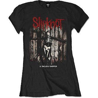 Damen Slipknot .5: Das graue Kapitel Album offizielle T-Shirt T-Shirt weiblich