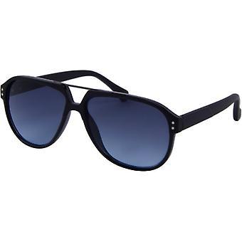 Sonnenbrille Unisex  Casual   Panto Kat.3 schwarz/blau (AZ-8135)