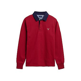 Gant Men&s Long Sleeve Polos Regular Fit