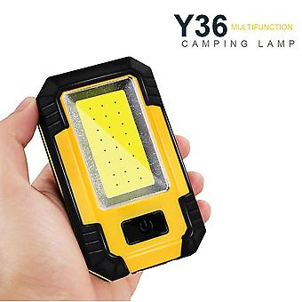 Portable Cob Led Emergency Light 30w Super Bright Waterproof For Camping Tent Light Rechargeable Outdoor Working Flashlight