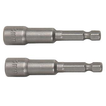 BlueSpot Tools Magnetic Nut Driver 8mm (2 Piece)