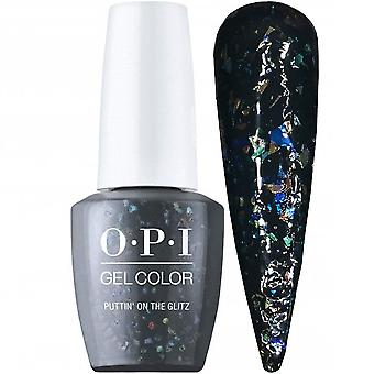 OPI GelColor Shine Bright 2020 Limited Edition Holiday Gel Polish Collection - Puttin' On The Glitz (GCHRM15) 15ml