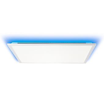 BRILLIANT Lampe Allie LED Loftpanel 60x60cm hvid   1x 39W LED integreret, (4072lm, 2700-6500K)   Skaler A++ til