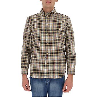 Gucci 628327zafk09128 Men's Multicolor Cotton Shirt