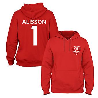 Alisson Becker 1 Liverpool Style Player Football Hoodie