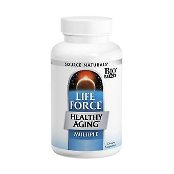 Source Naturals Life Force Healthy Aging, 120 Tabs