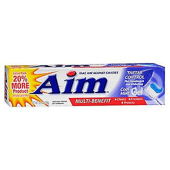 Aim Tatar Control Anticavity Fluoride Toothpaste Gel, 5.5 Oz