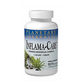 Planetary Herbals Inflama-Care, 1165mg, 60 Tabs
