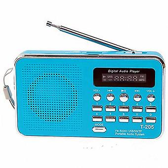 Portable Receiver Usb Stereo Mini Speaker Fm Radio