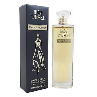 Naomi Campbell Pret a Porter Eau de Toilette Spray 100ml