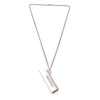 Ambush Bmob022f20met0017272 Men's Silver Brass Necklace