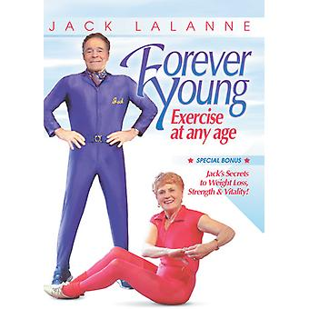 Forever Young - Exercise at Any Age [DVD] USA import