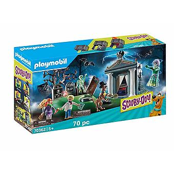 Playmobil 70362 scooby doo! adventure on the cemetery