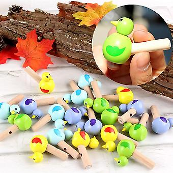 Mini Drawing Bird Model, Whistle Musical Instrument Education Toy