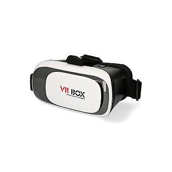 """Gafas VR Contacto VR Box 4""""-6"""" Blanco"""