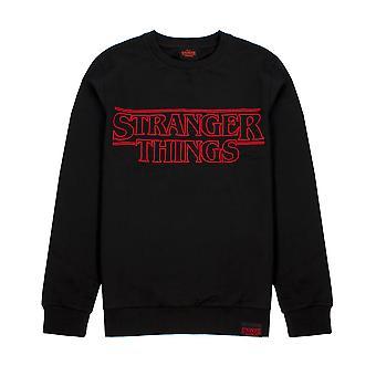 Stranger Things Sweater Logo Adultes Unisex Gift Jumper Hommes & Femmes