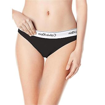 Calvin Klein Women's XS-XL Modern Cotton Bikini Panty, Black, Medium