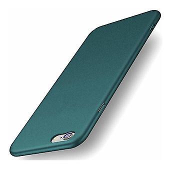 USLION iPhone XS فائقة رقيقة حالة - من الصعب ماتي حالة الغطاء الأخضر