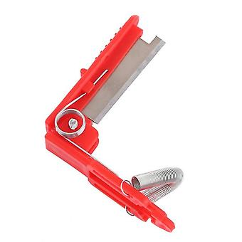 Multifunction Garden Pruner, Fruit Picking Device , Thumb Knife Cutting Blade,