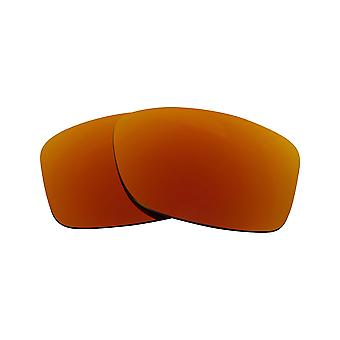 Replacement Lenses for Oakley Jupiter Squared Sunglasses Anti-Scratch Red Mirror
