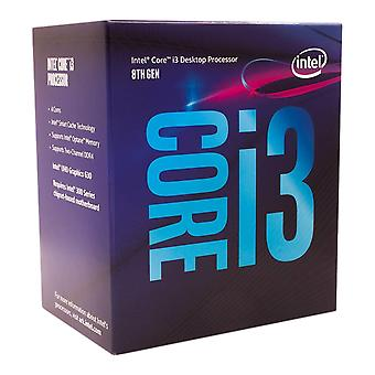 Intel core i3-8100 detail - (1151/quad core/3.60ghz/6mb/coffee lake/65w/graphics) processor