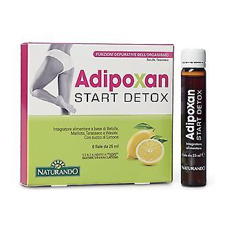 Adipoxan Start Detox 6 vials of 25ml