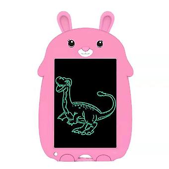 Pink Rabbit 9-inch Led Electronic Writing Board For Children