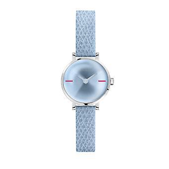 Furla Women'S Lt.Blue Dial Calfskin Leather Watch