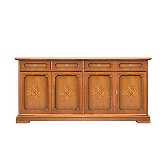 Sideboard 4 Türen 4 Schubladen mit Friesen 'You';