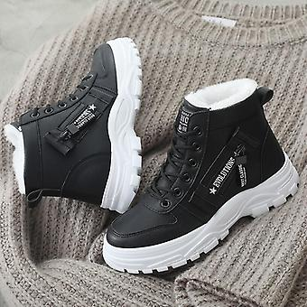 Women Winter Snow Boots High-top Waterproof Warm High-quality Shoes