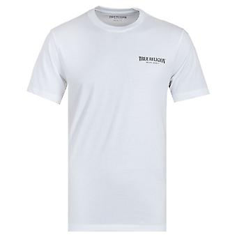 True Religion Small Arch Logo White T-Shirt