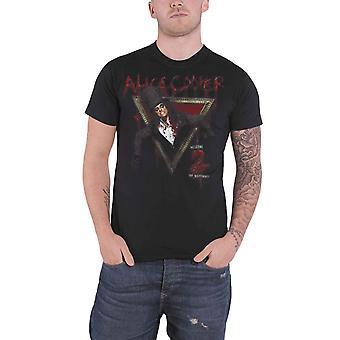 Alice Cooper T skjorte Velkommen til mine mareritt offisielle Mens nye svart