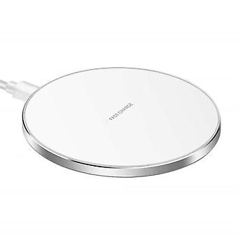 Caricabatterie rapido wireless Qi 10W Smart Charger per Apple Samsung Huawei