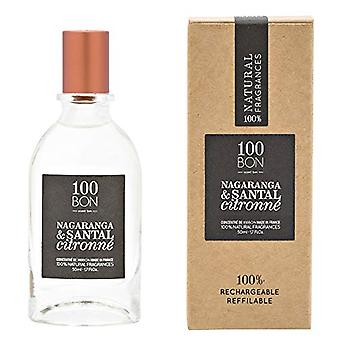 100BON Nagaranga & Santal Citronne Refillable Eau de Parfum Concentrate 50ml Spray